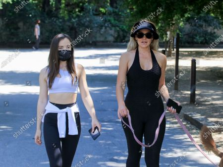 Natasha Alam and Anna Walt out and about, Los Angeles