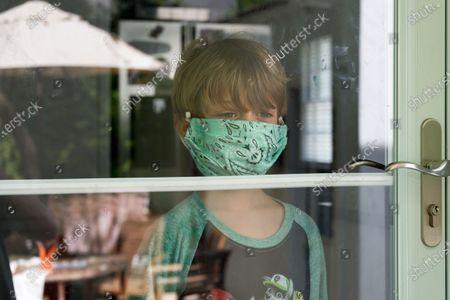 Children during the coronavirus outbreak, Darien