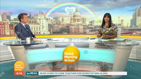 'Good Morning Britain' TV Show, London, UK - 28 May 2020