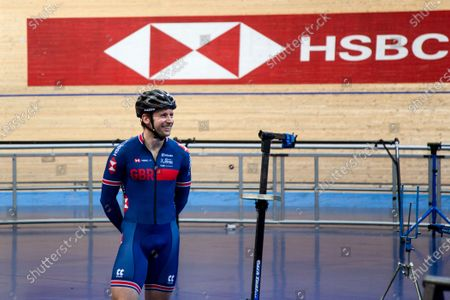 Editorial image of Great Britain Cycling Team Training. Manchester, UK - 26 May 2020