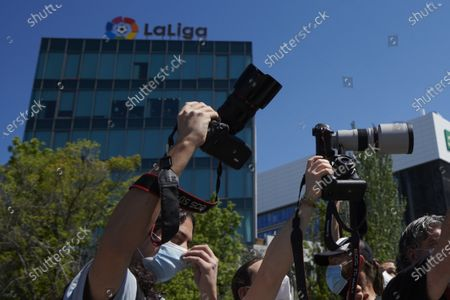 Photographers denounce La Liga preventing media coverage, Madrid