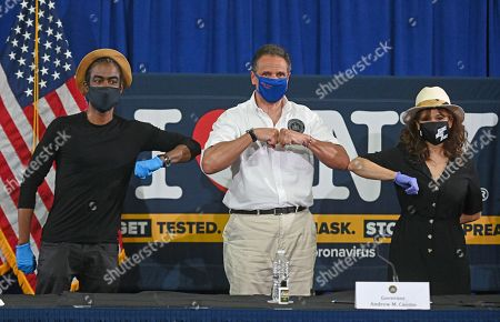 Chris Rock and Rosie Perez join Gov. Cuomo to promote mask use, New York