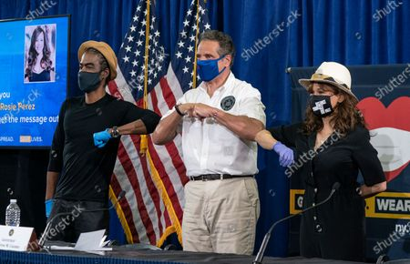 Editorial photo of Andrew Cuomo daily briefing on COVID-19 response, New York, New York, United States - 28 May 2020