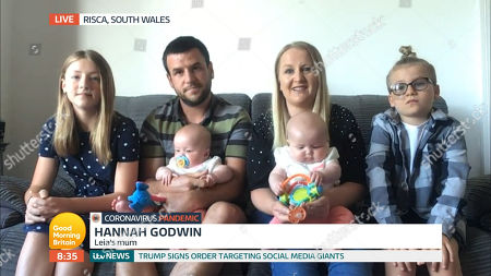 Hannah Godwin and Simon Godwin