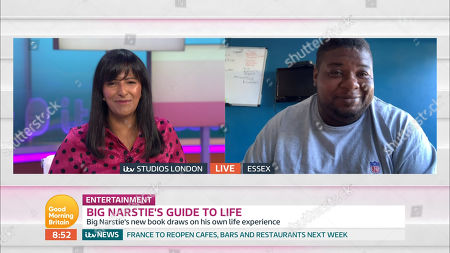 Editorial image of 'Good Morning Britain' TV Show, London, UK - 29 May 2020