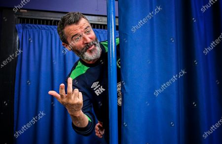 Republic of Ireland Press Conference, Stade de Montbauron, Versaille, France 24/6/2016. Assistant manager Roy Keane
