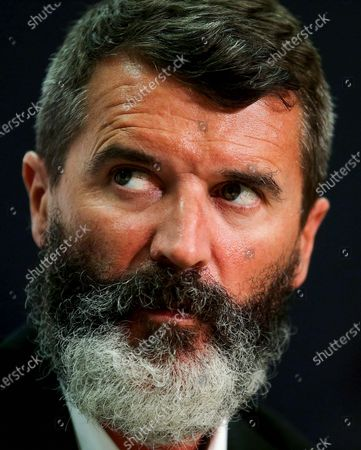 SSE Airtricity National U17 League Launch, FAI Headquarters, Abbotstown, Dublin 27/7/2015. Republic of Ireland Assistant Manager Roy Keane