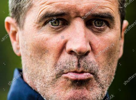 Republic of Ireland Squad Training, Fota Island, Cork 23/5/2017. Assistant manager Roy Keane