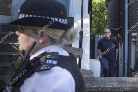 Dominic Cummings, Special Adviser to Prime Minister Boris Johnson, leaves his London home. The government have announced a further relaxing of the lockdown rules allowing groups of six people to meet outdoors from Monday.