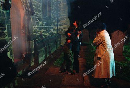 Editorial photo of 'Emmerdale' TV Show UK  - Jul 2002