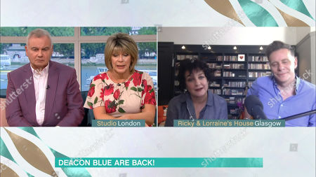 Stock Photo of Ruth Langsford, Eamonn Holmes, Ricky Ross and Lorraine McIntosh