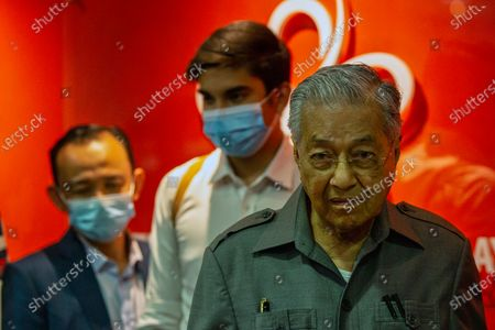Editorial photo of Malaysia's Mahathir Mohamad press conference after being sacked by the political party he co-founded, Kuala Lumpur - 29 May 2020