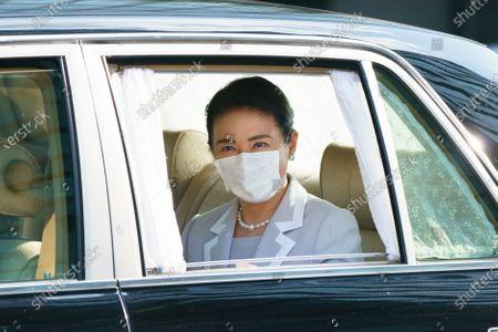Japanese Empress Masako at the Imperial Palace, Tokyo