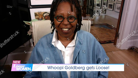 Stock Picture of Whoopi Goldberg
