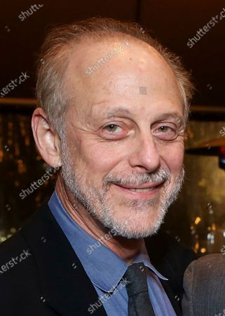 """Cast members Mark Blum poses during the party for the opening night performance of """"Vanya and Sonia and Masha and Spike"""" in Los Angeles. Blum died March 26 in New York at age 69"""