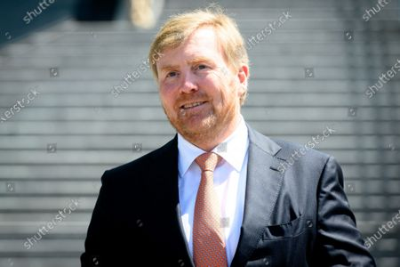 King Willem-Alexander visit to the Dutch Railways, Utrecht