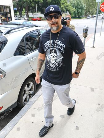 B-Real out and about, Los Angeles