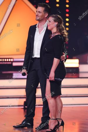 Stock Image of Nadja and Alexander Klaws.