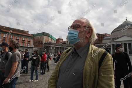 Editorial image of Protest workers of the show in Napoli, Napoli, Campania/Napoli, Italy - 30 May 2020
