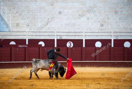 Editorial photo of Masterclass of bullfighting in Malaga, Spain - 30 May 2020
