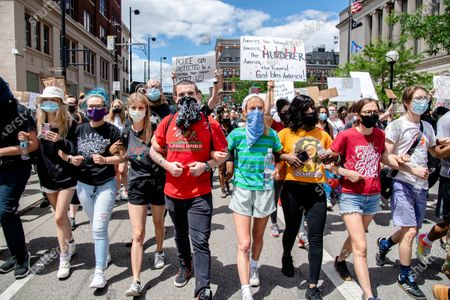 Black Lives Matter protest, Cincinnati