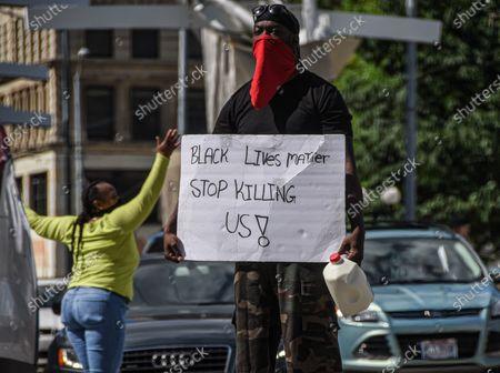 Black Lives Matter protest, Dayton