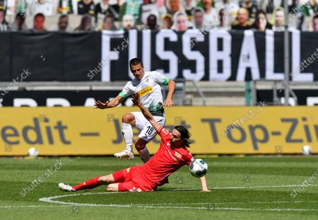 Editorial picture of Virus Outbreak Soccer Bundesliga, Moenchengladbach, Germany - 31 May 2020