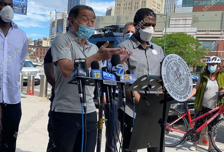 Editorial picture of Public Advocate Press Conference On George Floyd Protest, Barclays Center, Brooklyn, New York, USA - 30 May 2020