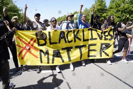 Black Lives Matter protest, Copenhagen