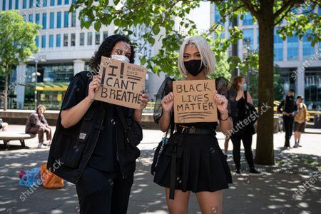 Black Lives Matter protest, Manchester