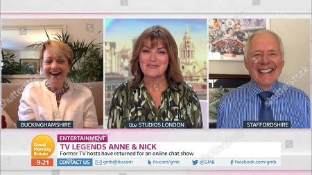 Lorraine Kelly, Anne Diamond and Nick Owen