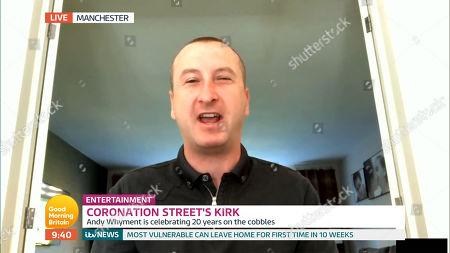 Editorial image of 'Good Morning Britain' TV Show, London, UK - 01 Jun 2020