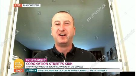 Stock Picture of Andy Whyment