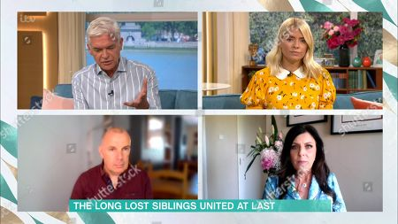 Holly Willoughby, Phillip Schofield and David McBride