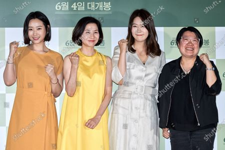 Stock Photo of Ryu Abell, Kim Ho-jung, Kim Ji-young, Kim Hee-jung