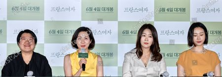 Editorial photo of 'A French Woman' film premiere, Seoul, South Korea - 01 Jun 2020