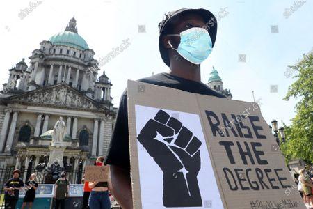 Black Lives Matter protest, Belfast