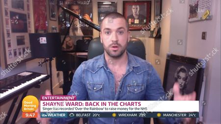 Stock Picture of Shayne Ward