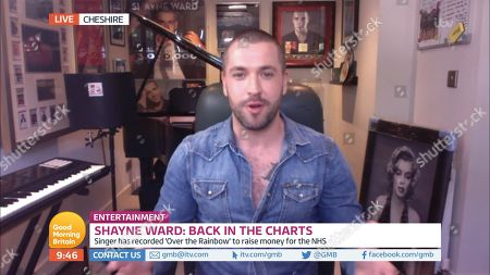Stock Image of Shayne Ward