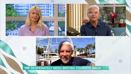 Holly Willoughby, Phillip Schofield and Wayne Lineker