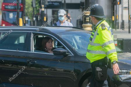 Jess Phillips,  Labour Member of Parliament for Birmingham Yardley arrives at Parliament
