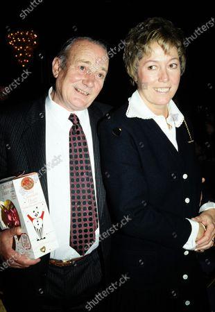 Denholm Elliott and wife Susan c.1991