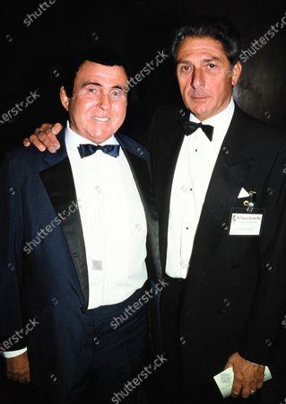 Mick McManus and Bernard Coral c.1991