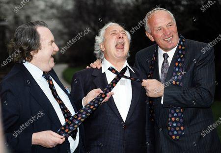 Sir John Harvey Jones, Michael Winner and Sir Henry Cooper 1991