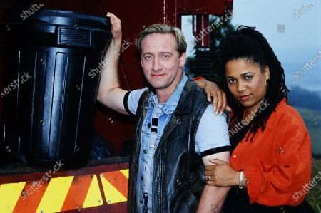 Neil Dudgeon and Nimmy March 1994