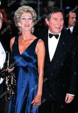 Sue Nicholls and husband Mark Eden Coronation Street 1995