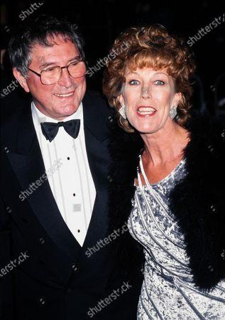 Sue Nicholls and husband Mark Eden Coronation Street 1998