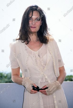Stock Photo of Katrin Cartlidge - Cannes 1998