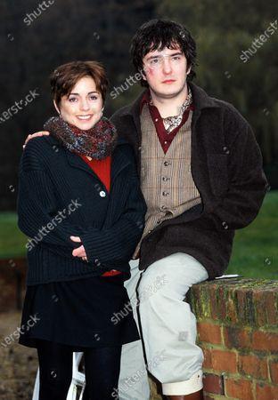 Charlotte Coleman and Dylan Moran 1998