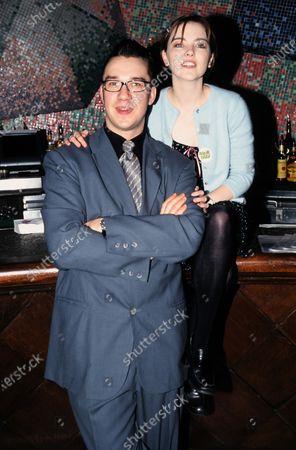 Mark Lamarr and Melanie Clark Pullen 1999